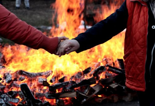 14 Ottobre 2018 a Concesio (Bs) Firewalking: camminata sui carboni ardenti